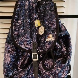 PINK VICTORIA'S SECRET Sequin Backpack
